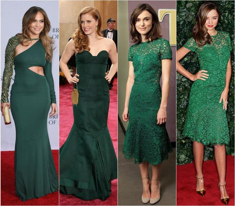 Cor de esmalte para vestido verde agua