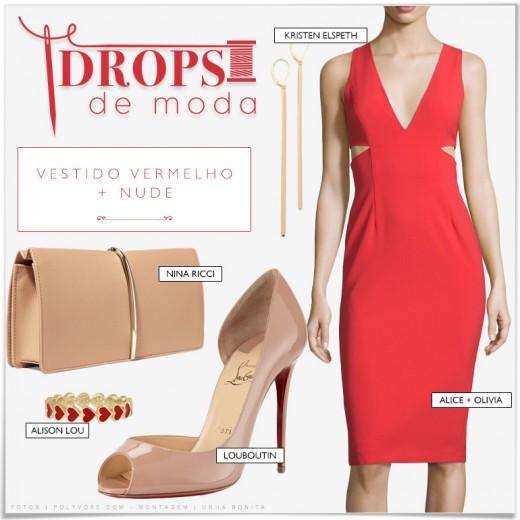 esmalte-usar-vestido-vermelho