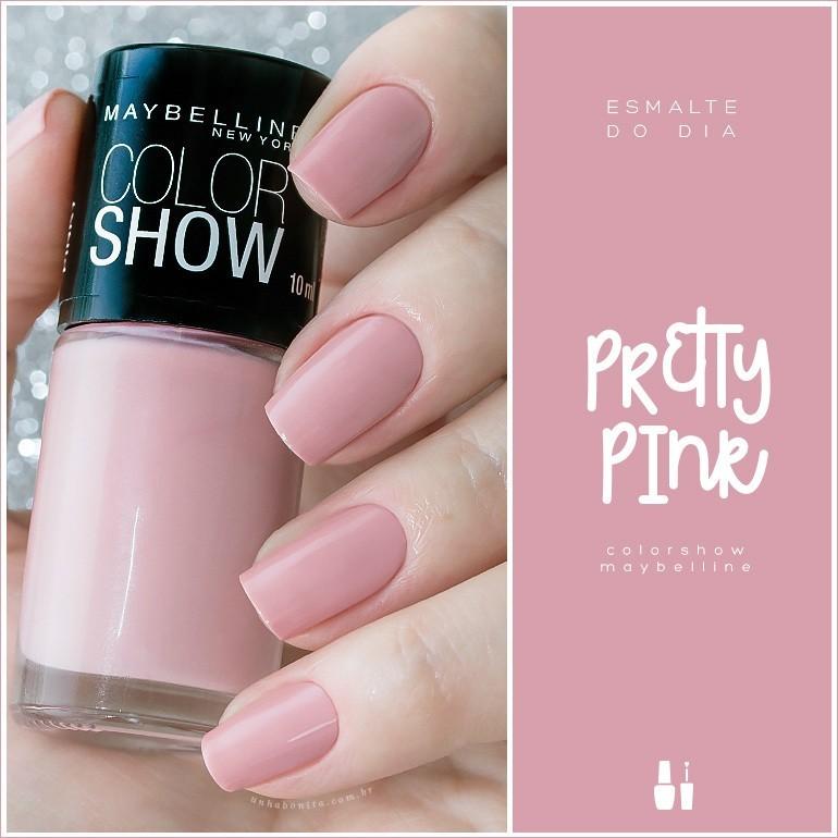 pretty-pink-colorshow-maybelline-unha-bonita