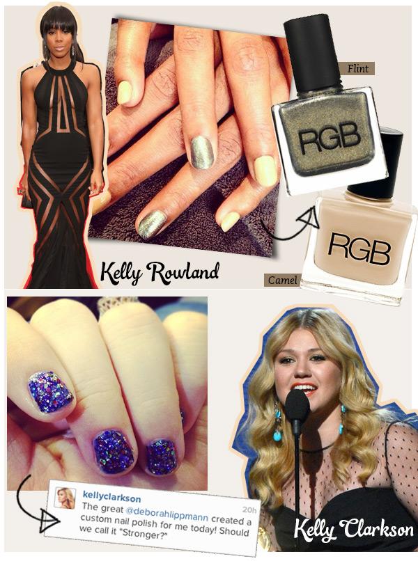 kelly-rowland-grammy-nails