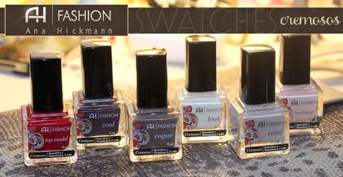 AH Fashion - swatches dos novos esmaltes da Ana Hickmann - Cremosos ... ef7f3d4aef